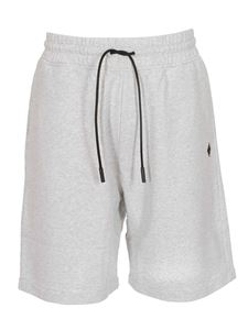 Off-White - Cross Basket Shorts in melange grey