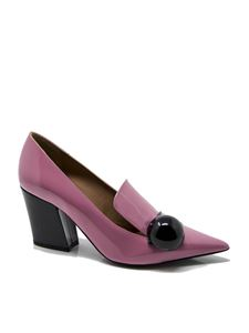 Emporio Armani - Patent leather pumps in pink