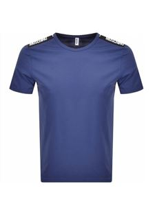 Moschino - Branded t-shirt in blue