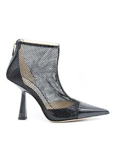 Jimmy Choo - Heeled Kix ankle boots in black