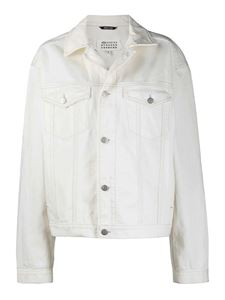 Maison Margiela - Denim jacket in white