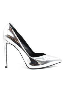 Saint Laurent - Paris 105 pumps in silver color