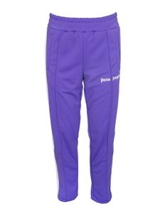 Palm Angels - Classic Slim track pant in purple