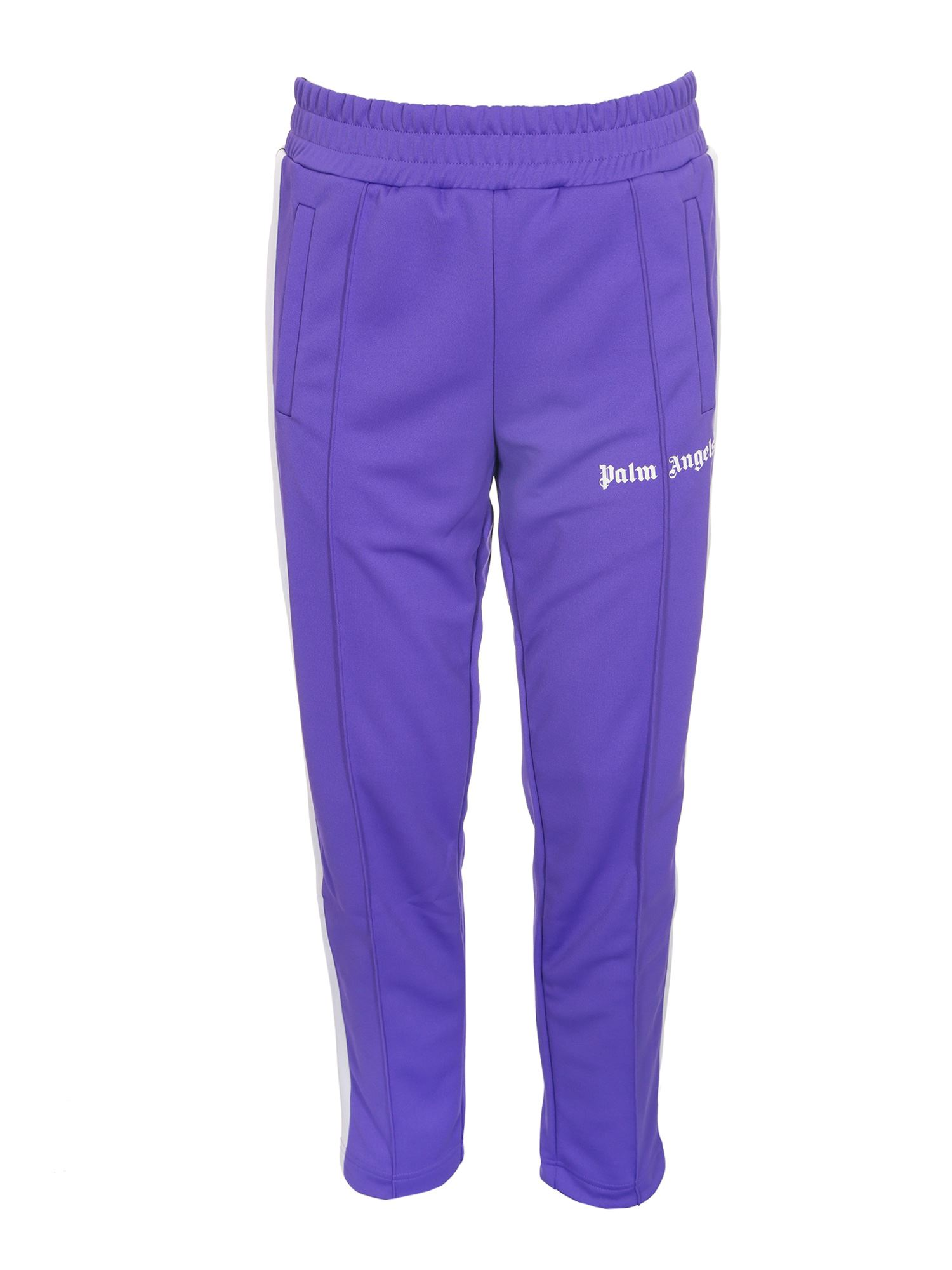 Palm Angels CLASSIC SLIM TRACK PANT IN PURPLE