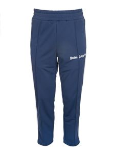 Palm Angels - Classic Slim track pant in blue
