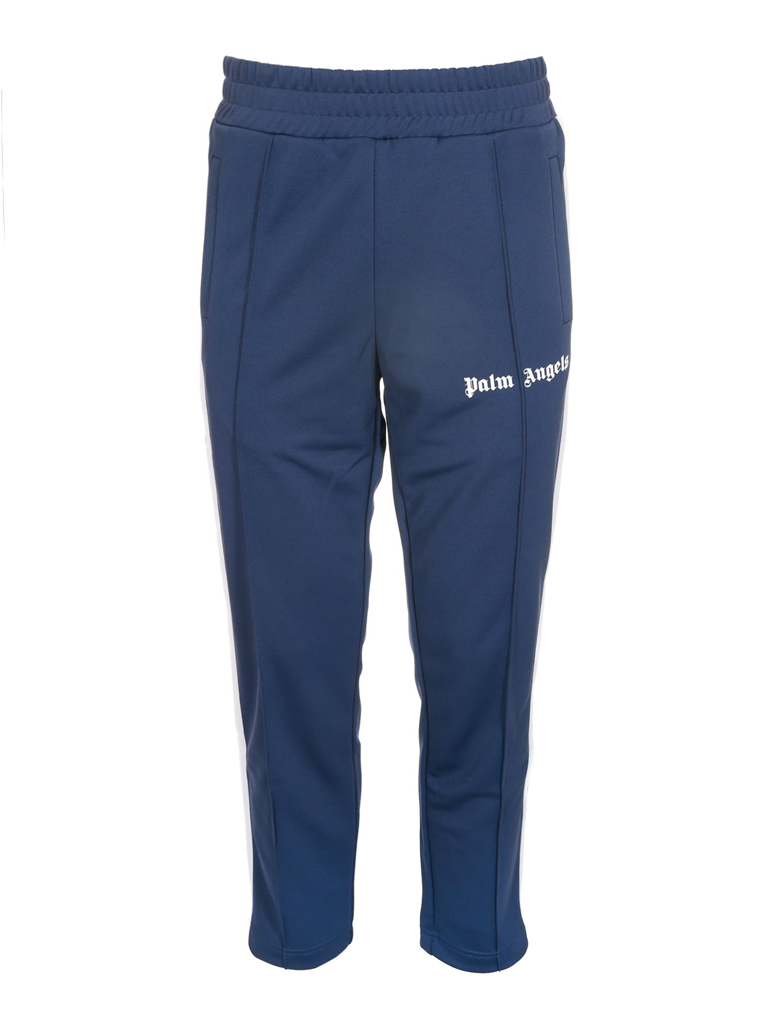 Palm Angels CLASSIC SLIM TRACK PANT IN BLUE