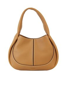 Tod's - Small Tod's Shirt Hobo bag in brown
