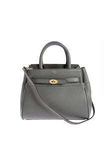 Mulberry - Small Belted Baysweater bag in grey