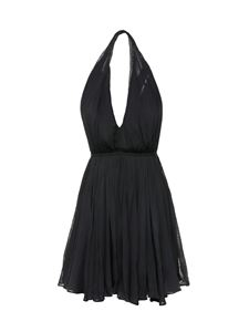 Saint Laurent - Uncovered back dress in black