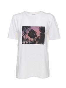 Saint Laurent - VHS Sunset t-shirt in white