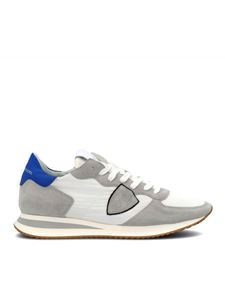 Philippe Model - Trpx Mondial sneakers in white and blue