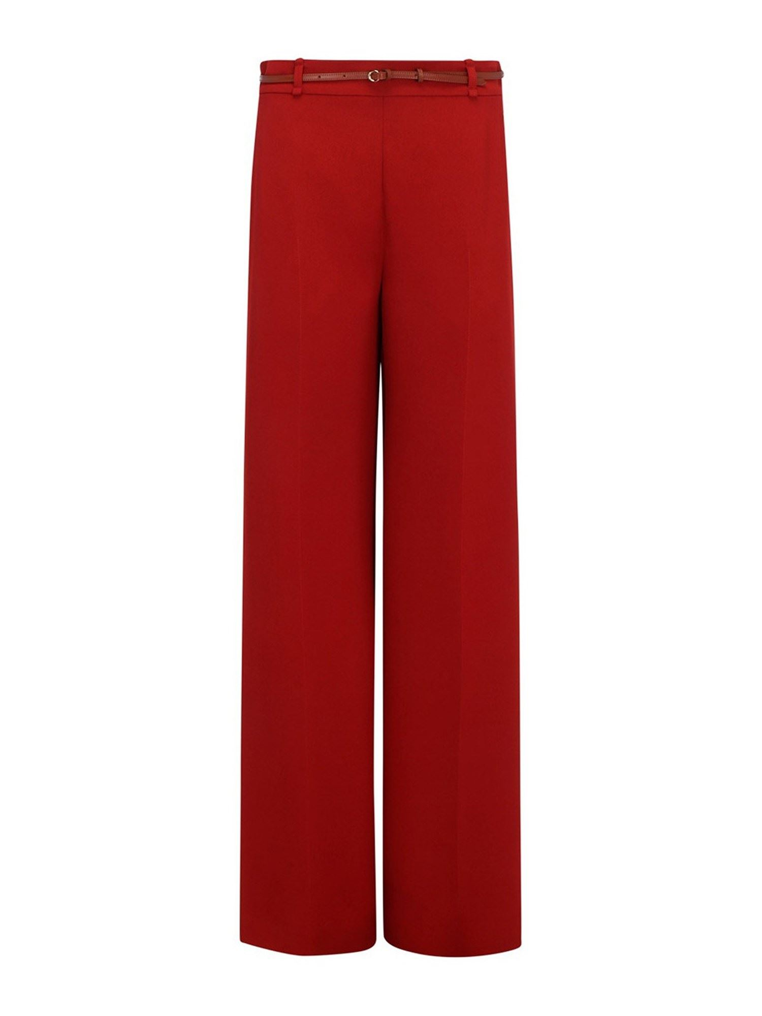 Chloé VISCOSE CRÊPE PANTS IN RED