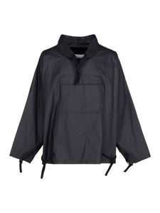 Maison Margiela - Ramie pullover jacket in black