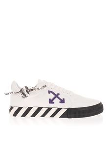 Off-White - Sneakers Off-Court bianche e viola