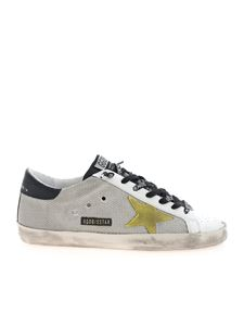 Golden Goose - Super-Star Classic sneakers in white and grey