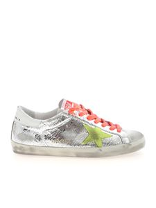 Golden Goose - Superstar Classic sneakers in silver color