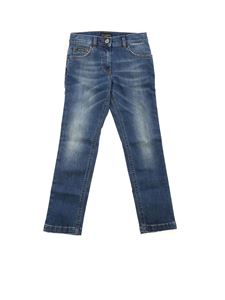 Dolce & Gabbana Jr - 5-pocket jeans in blue
