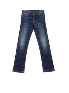 Dolce & Gabbana Jr - 5-pocket jeans in dark blue