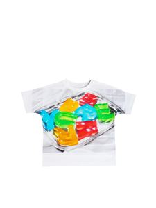 Burberry - T-shirt Jelly bianca