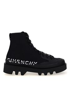 Givenchy - Sneakers Clapham in tela nere