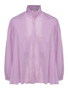 Forte Forte - Cotton silk blend shirt in lilac