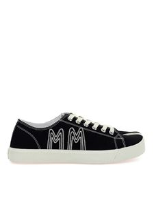 Maison Margiela - Sneakers Tabi in denim nere