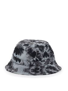 Marcelo Burlon County Of Milan - Tie-dye effect bucket hat in grey