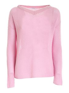 malo - Cashmere pullover in pink