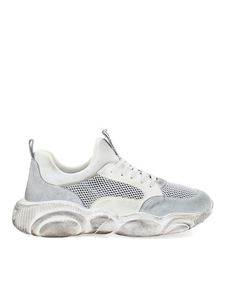 Moschino - Sneakers Teddy Vintage bianche