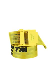 Off-White - Industrial 2.0 belt in yellow