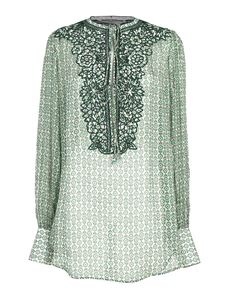 Ermanno Scervino - Embroidered blouse in green