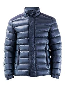 Colmar Originals - Quilted nylon padded jacket in blue