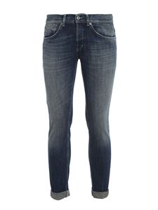 Dondup - George stone washed jeans in blue