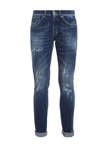Dondup - George ripped jeans in blue