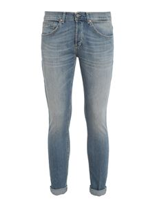 Dondup - George light wash jeans in light blue