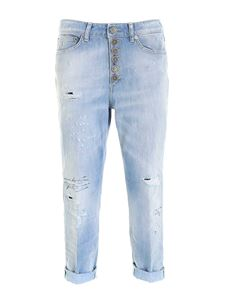 Dondup - Koons light blue jeans with jewel