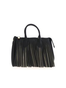 Gum Gianni Chiarini - Fringes bag in black