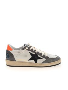 Golden Goose - Ball Star sneakers in white and gray