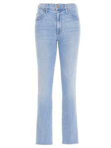 Mother - The Insider Ankle jeans in light blue