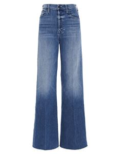 Mother - The Tomcat Roller Fray jeans in blue
