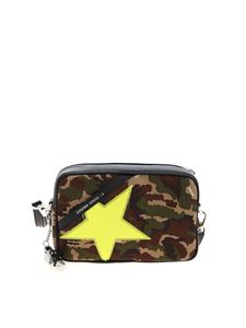 Golden Goose - Star bag in black and camo print
