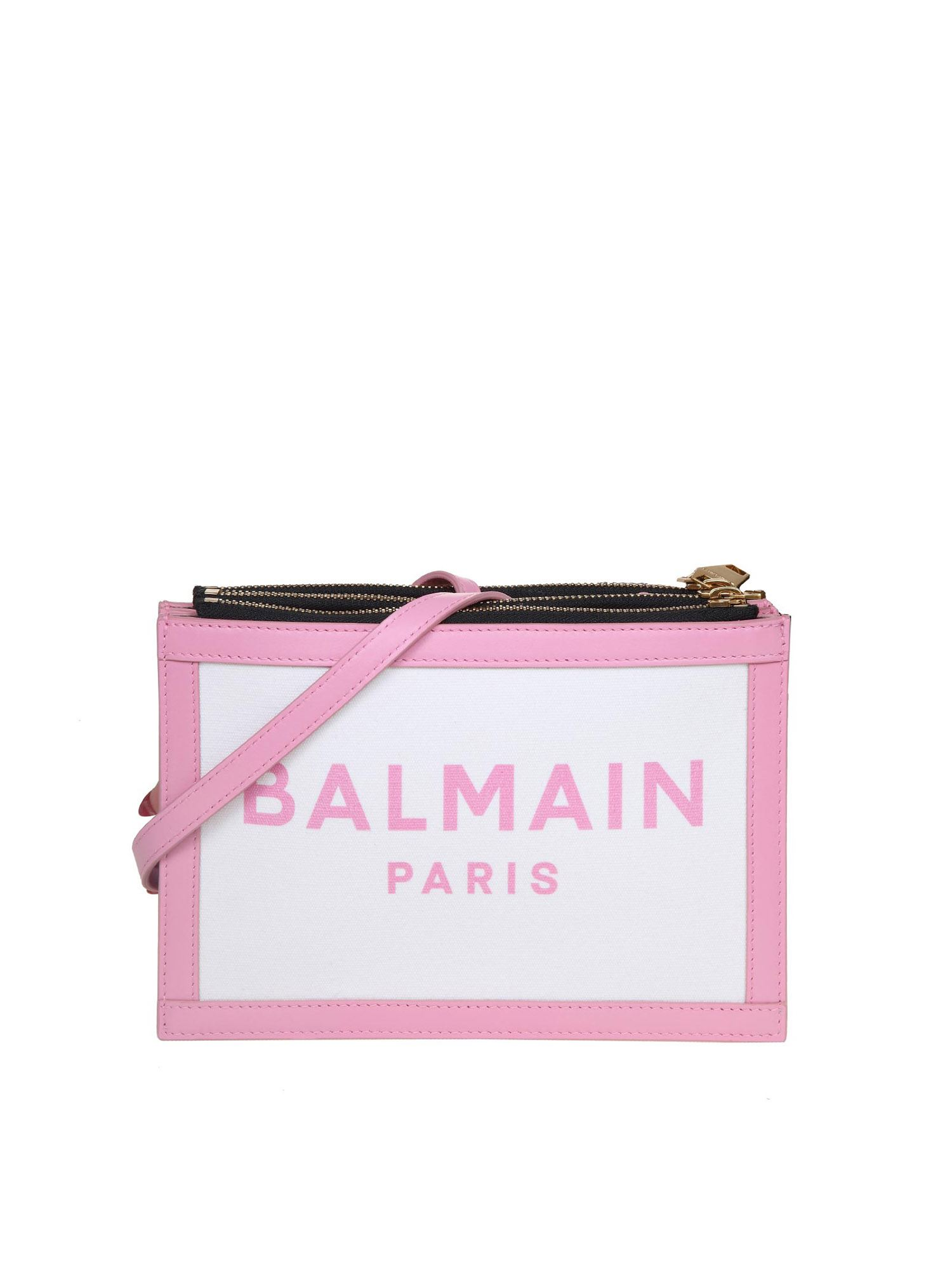 Balmain THREE POUCHES BAG IN PINK