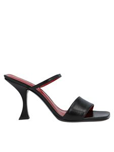 By Far - Nayla sandals in black