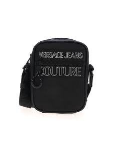 Versace Jeans Couture - Branded crossbody bag in black