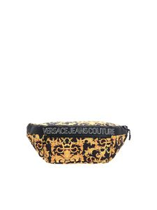 Versace Jeans Couture - Baroque logo belt bag in black