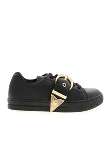 Versace Jeans Couture - Buckle sneakers in black