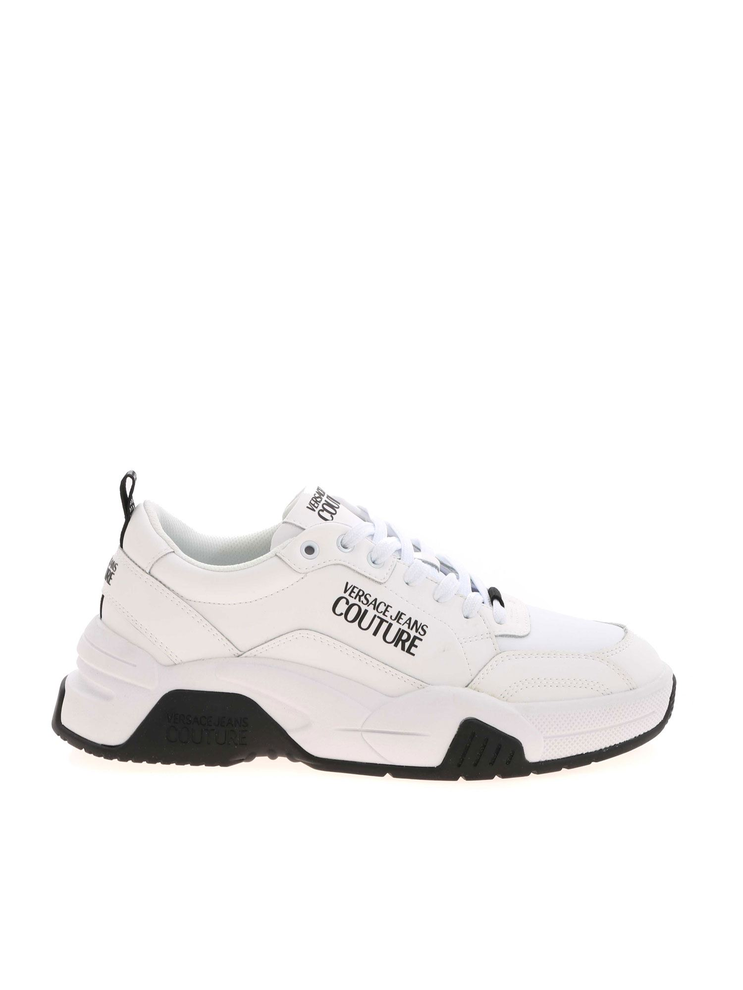 Versace Jeans Couture BRANDED SNEAKERS IN WHITE
