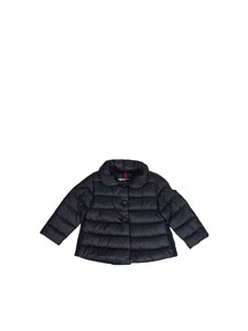 Moncler Jr - padded jacket with ruffles