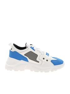 Versace Jeans Couture - Oversize sole sneakers in white