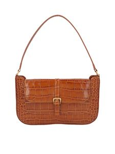 By Far - Borsa Miranda stampa cocco in color Tan